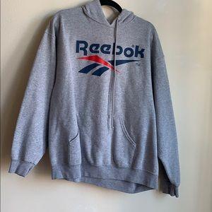 Reebok mens grey sweatshirt